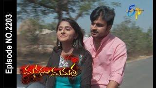 Manasu Mamata | 12th February 2018 |Full Episode No 2203| ETV Telugu