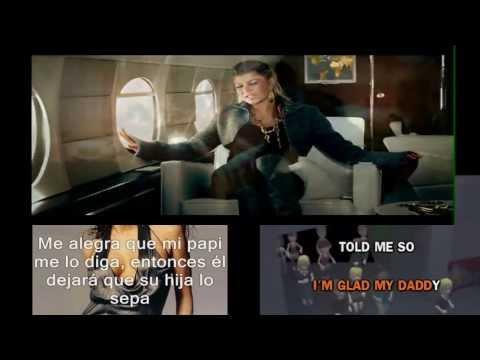 Fergie- Glamorous.VIDEO.(Lyrics+Sub Español)
