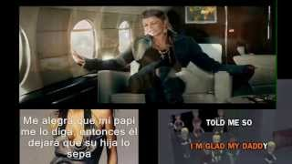 Fergie- Glamorous.VIDEO.(Lyrics+Sub Español)