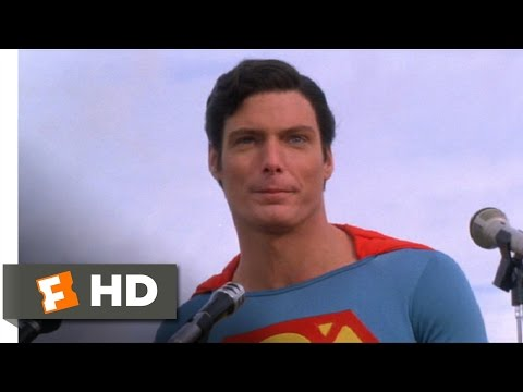 Superman IV (10/10) Movie CLIP - There Will Be Peace (1987) HD