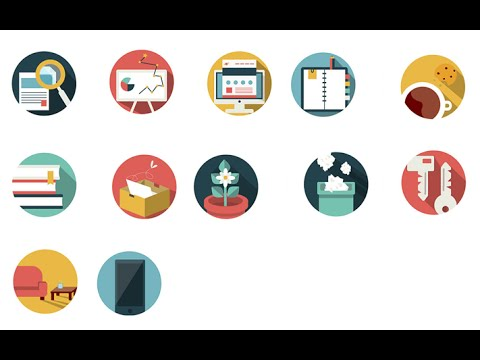 Icon Image Sprites Using HTML and CSS