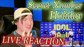 "SECRET NUMBER(시크릿넘버) - Holiday LIVE on IDOL RADIO Reaction ""…"