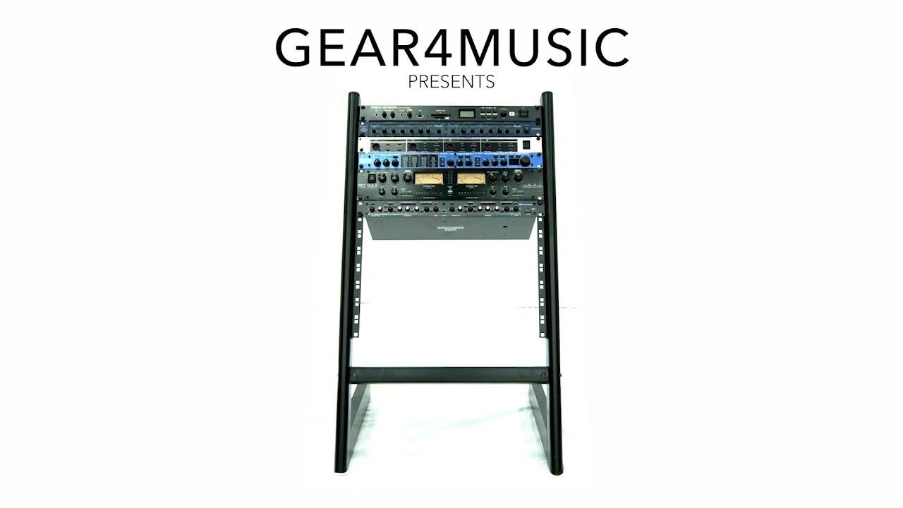 19 14u studio rack stand gear4music
