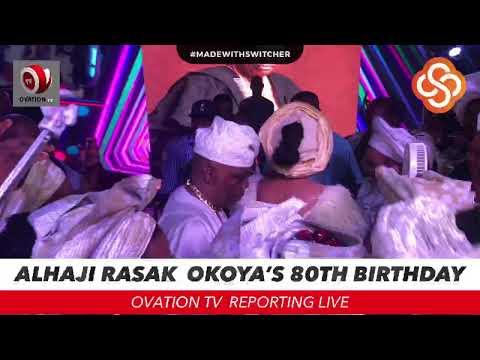 Alhaji Rasak  Okoya 80th Birthday