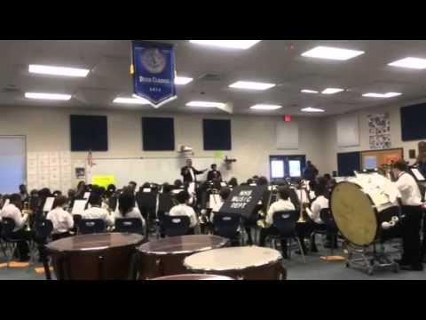 Kittredge Magnet School 6th Grade Band LGPE 2015