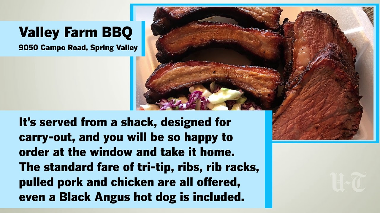 San Diego S Best Bbq Here S Where To Make A Pit Stop The