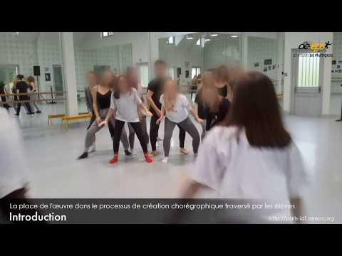 C. Dutilh & Y. Beudaert : Atelier de pratique danse (partie « pratique ») – Vidéo 1/8