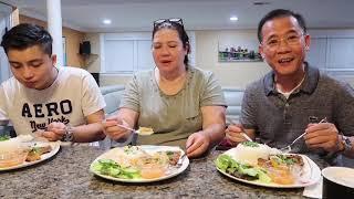 Vlog 159 ll Hôm Nay Cả Nhà Ăn CƠM TẤM SƯỜN CHẢ ĐẶC BIỆT