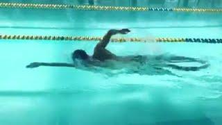 Manuel Bortuzzo, nuotata in vasca con messaggio ai 'colleghi':
