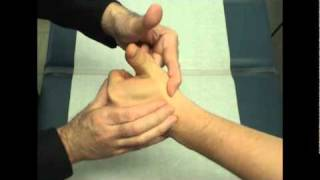 Muscle Examination of the Hand and Upper Extremity Video - Brigham and Women's Hospital