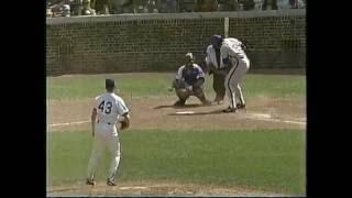 Cubs-Mets, June 12, 1990 (innings 8-9)