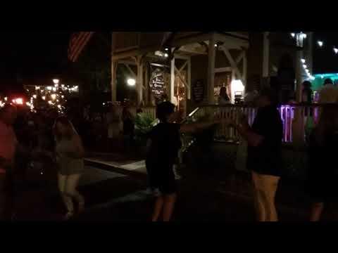 Cuban dance party on Saturday night on Cuna Street.