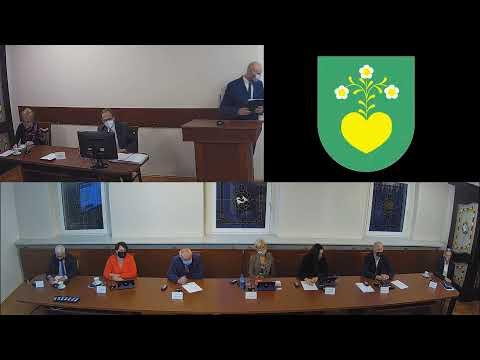 Sesja Rady Miejskiej w Radlinie w dniu 27.10.2020r.