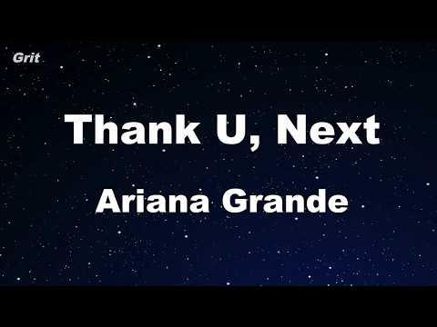 thank u, next - Ariana Grande Karaoke 【No Guide Melody】 Instrumental