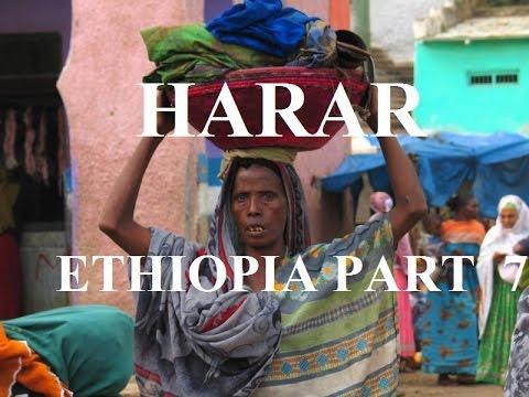 Ethiopia /Harar (Beautiful colourful women market) Part 39