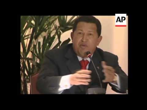 President Chavez comment on Ingrid Betancourt rumours