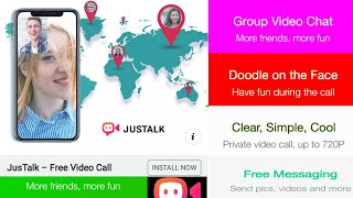 App Review Of Jus Talk - Free Video Calls And Fun Video Chat Get - video chat app screenshot 3