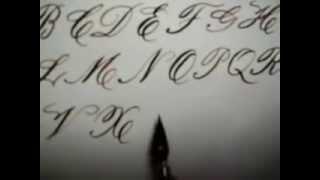 Caligrafia Alfabeto completo  - Abel Cândido