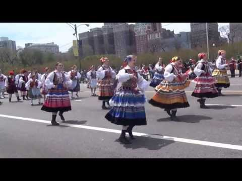 Clips of the Polish Constitution Day Parade 2013-Chicago