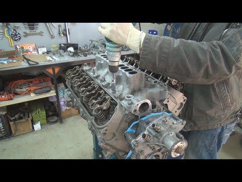 Восстановление 1994 Ford Mustang GT - part 7 - сборка двигателя