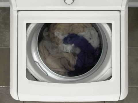 Clothes Movement in a HE Washer