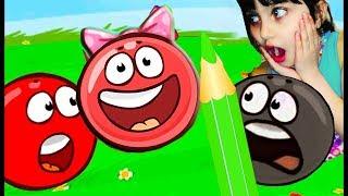 Новый красный шарик КТО СПАСЕТ ПРИНЦЕССУ ФИНАЛ Red Ball 4 ЗЛЫЕ КВАДРАТЫ видео для детей Валеришка