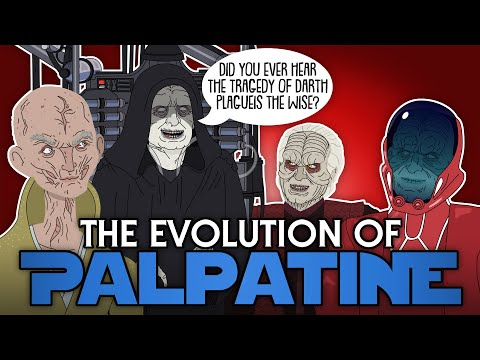 The Evolution Of Palpatine (Animated)