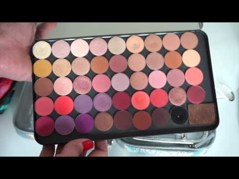 WHAT'S IN MY TRAVEL MAKEUP BAG | IMATS NYC | YOUNG WILD AND POLISHED