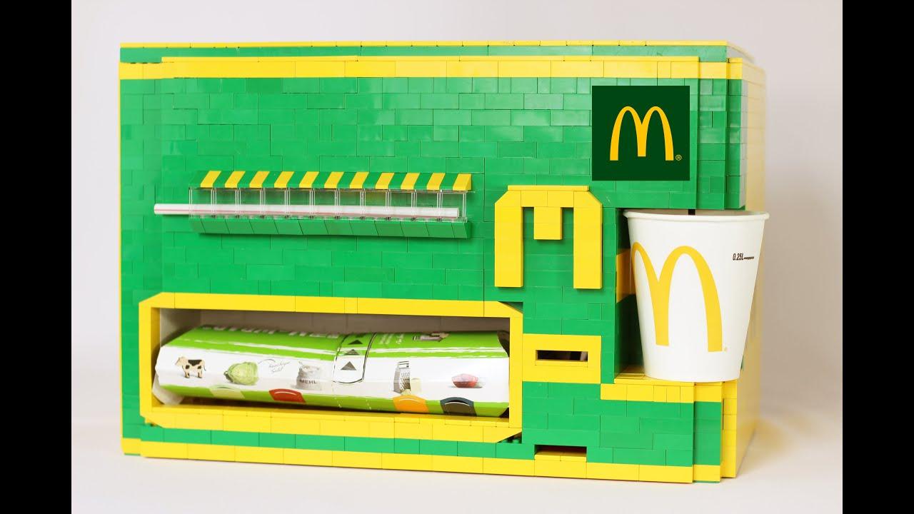 LEGO McDonald's Wrap Machine (Wraps + Fanta)