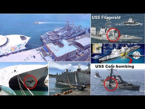 挑戰新聞軍事精華版--尼莎瞬間陣風,麗娜輪斷纜撞2艘濟陽級軍艦