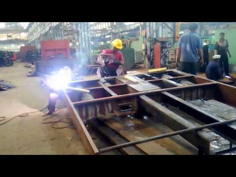 Fabrication  of Head Stock Assembly for ICF Coaches with CBC Coupler Arrangement