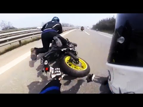 Hectic Road Bike Crashes & Motorcycle Mishaps 2017 [Ep.#17]