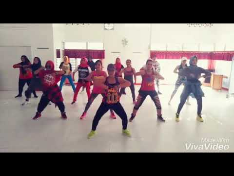 GraceLovers ; Zumba, Song PACA~Edward Sanchez. Choreo By @Olivia Febriani & Edward Sanchez
