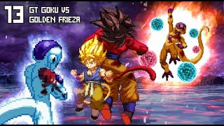 Download lagu [What-If] GT Goku (Super Saiyan 4) VS Golden Frieza.