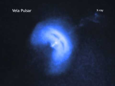 Fast Spinning Pulsar's Wobbles Whip-Up Plasma Jets | Video