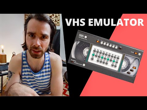 How I Use This FREE Native Instruments VHS Tape Effect   Liam Killen