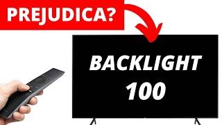 Backlight (luz de fundo) no máximo - Ruim para sua TV?