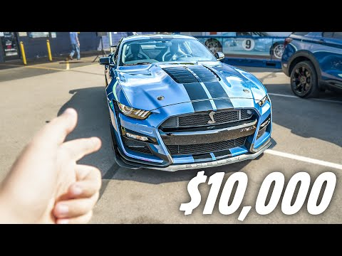 2020 Shelby Mustang GT500 With Painted Stripes Is An Extra $10,000 [UPDATE]