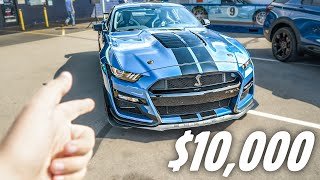 HERE'S WHY THE 2020 SHELBY GT500 HAS A $10,000 PAINT OPTION! (Why I Bought It...)