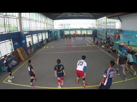 Singapore Dodgeball League 2017   Victorious Secret vs B Team (Week 2)