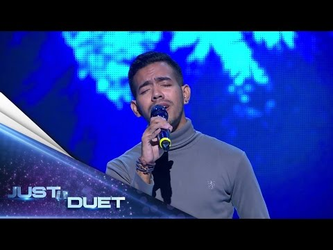 Glenn makes the Judges fall for him and give 4 hearts with Dewa 19's song! - Audition 1 - Just Duet