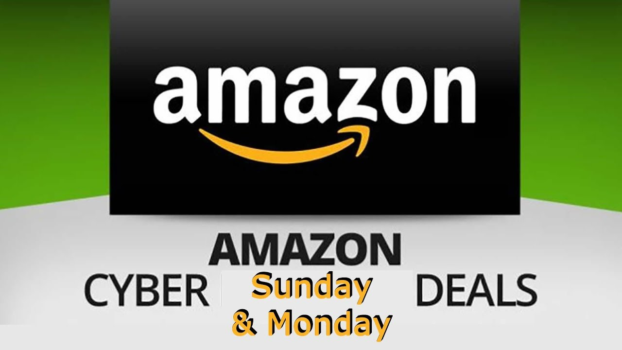 best cyber monday deals on amazon starts today youtube. Black Bedroom Furniture Sets. Home Design Ideas