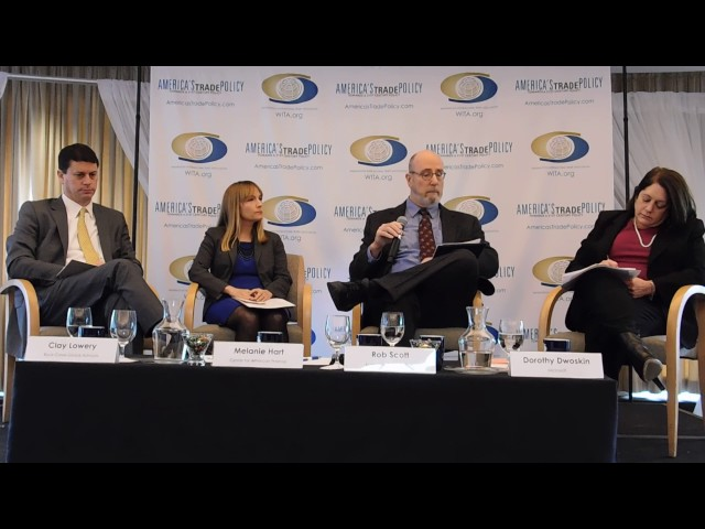 2/16/17 The Past, Present, and Future of US-China Trade: Panel 1 Part 1