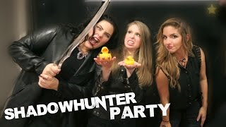 PARTYING WITH SHADOWHUNTERS | Vlog