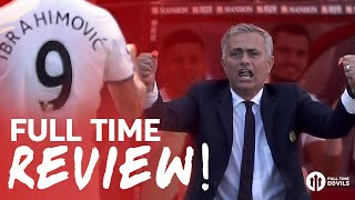 FULL TIME REVIEW: Zlatan, Mata, Rooney! | Bournemouth 1-3 Manchester United