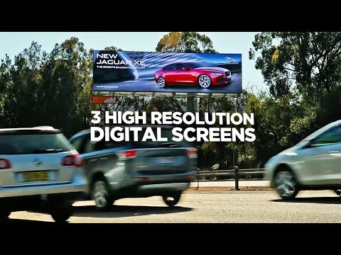 Digital Billboard - oOh!'s Signature Collection | The Southern Stars