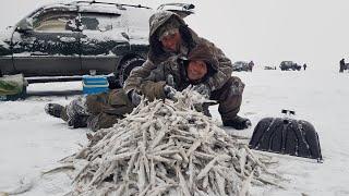 Лучшая зимняя рыбалка в Де Кастри за 10 лет Ловят все и очень много