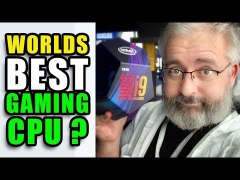 "i9 9900k - INTEL are calling it ""The Worlds Best Gaming CPU"""