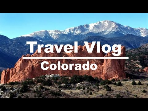 Travel Vlog | Denver & Colorado Springs Colorado