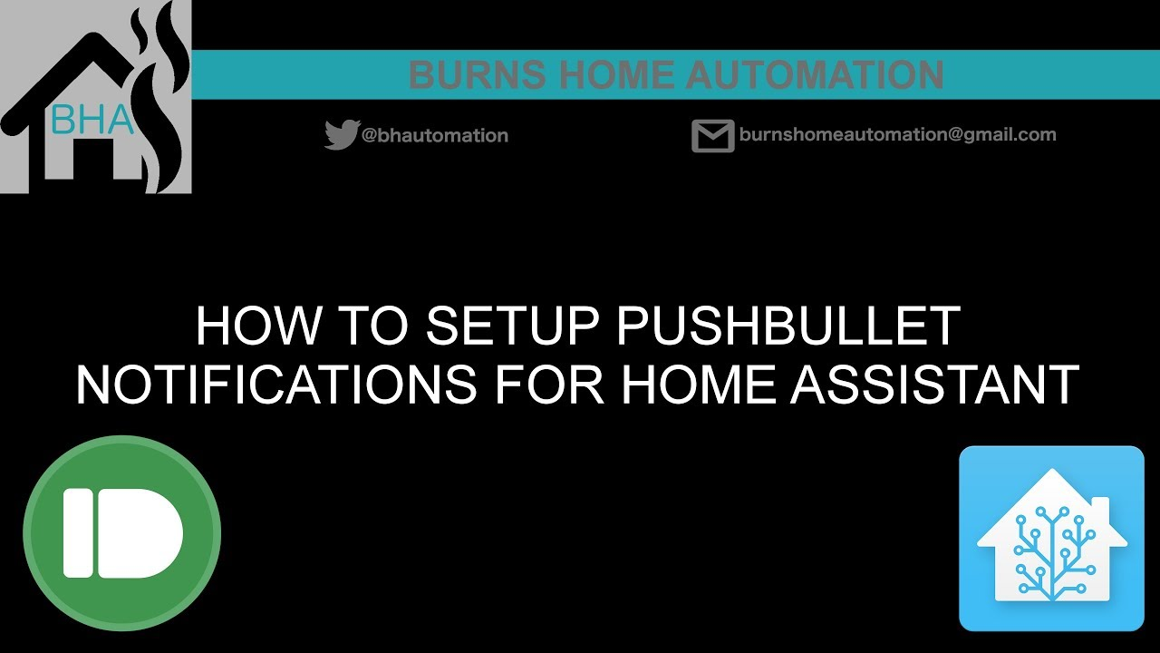 How to setup Pushbullet notifications for Home Assistant